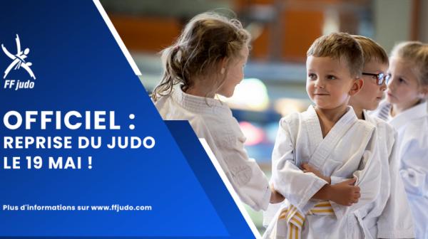 Reprise du judo !